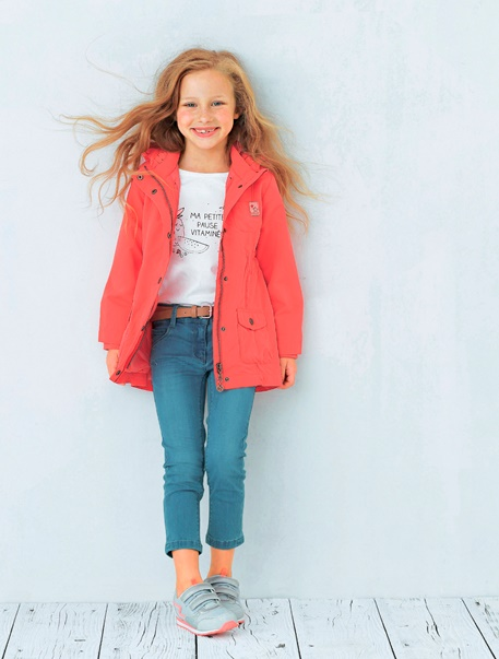 """Maedchenkleidung-Lookbook-Outfit """"Parka-Style"""""""