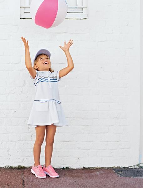 """Maedchenkleidung-Lookbook-Outfit """"Kleine Tennisspielerin"""""""
