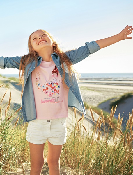 """Maedchenkleidung-Lookbook-Outfit """"Fabulous Summerdays"""""""