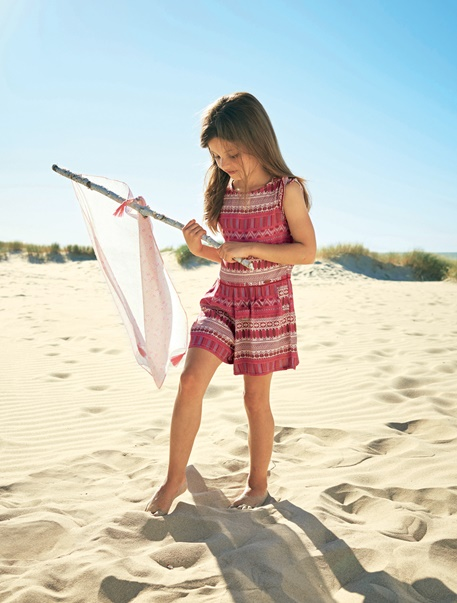 """Maedchenkleidung-Lookbook-Outfit """"Surfer-Girl"""""""