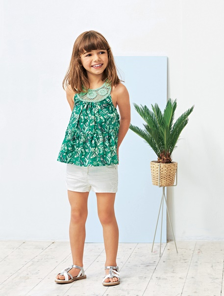 """Maedchenkleidung-Lookbook-Outfit """"Tropical"""""""
