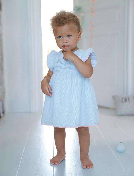 "Babymode-Lookbook Babys-Outfit ""Zartblau"""