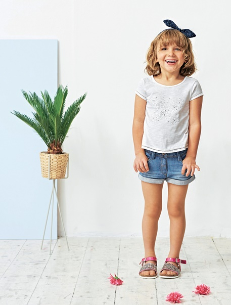 "Maedchenkleidung-Lookbook-Outfit ""Schmetterling"""
