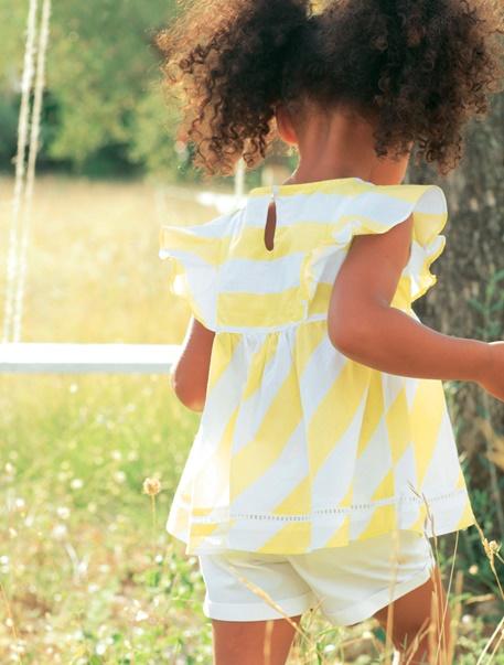 "Babymode-Lookbook Babys-Outfit ""Sonnenmädchen"""