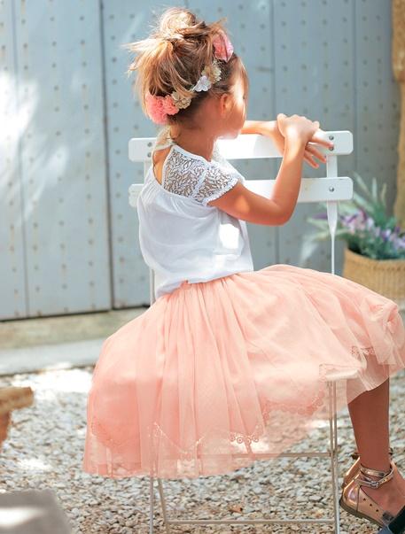 """Maedchenkleidung-Lookbook-Outfit """"Kleine Ballerina"""""""