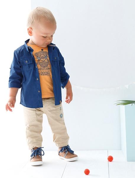 "Babymode-Lookbook Babys-Outfit ""Kleiner Löwe"""