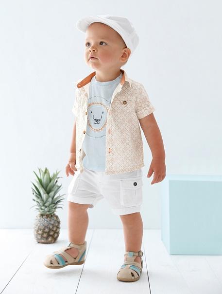 """Babymode-Lookbook Babys-Outfit """"Kleiner Abenteurer"""""""