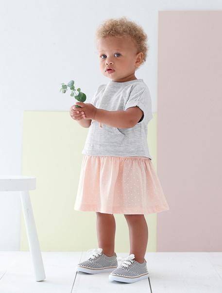 """Babymode-Lookbook Babys-Outfit """"Kleines Blumenmädchen"""""""
