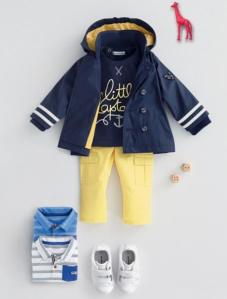 "Babymode-Lookbook Babys-Outfit ""Kleiner Kapitän"""