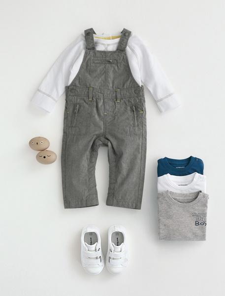 "Babymode-Lookbook Babys-Outfit ""Latzhose"""