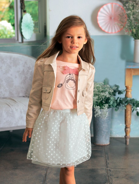 """Maedchenkleidung-Lookbook-Outfit """"Coole Partyprinzessin"""""""