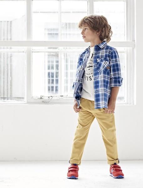 """Jungenkleidung-Lookbook-Outfit """"Karo-Look"""""""