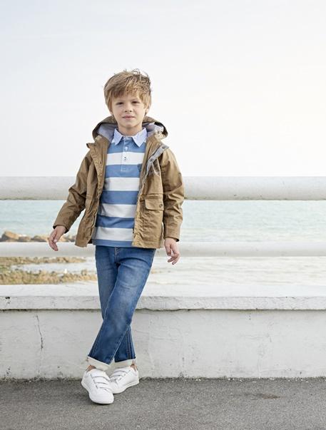 """Jungenkleidung-Lookbook-Outfit """"Denim & Streifen"""""""