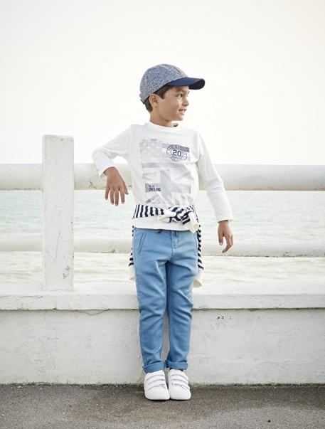 """Jungenkleidung-Lookbook-Outfit """"Blautöne"""""""