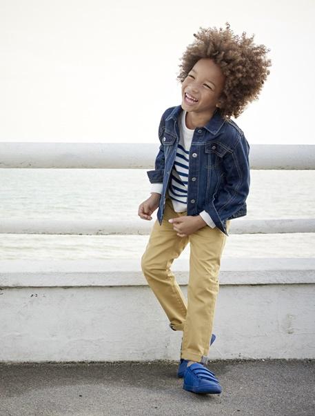 "Jungenkleidung-Lookbook-Outfit ""Marine-Style"""