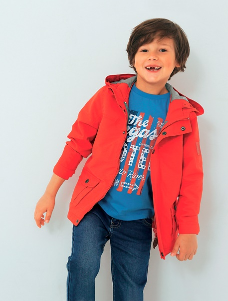 """Jungenkleidung-Lookbook-Outfit """"3-in-1-Parka-Style"""""""