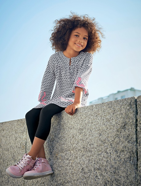 """Maedchenkleidung-Lookbook-Outfit """"Ethno-Girl"""""""