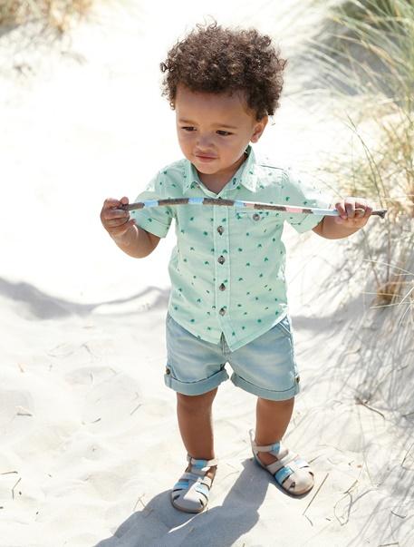 """Babymode-Lookbook Babys-Outfit """"Kleiner Beach-Boy"""""""