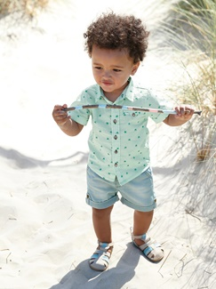 "Babymode-Lookbook Babys-Outfit ""Kleiner Beach-Boy"""