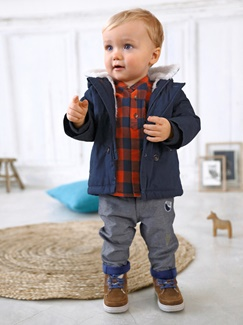"Babymode-Lookbook Babys-Outfit ""Winterspaziergang"""