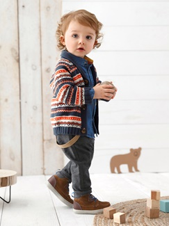 "Babymode-Lookbook Babys-Outfit ""Trendy im Herbst"""
