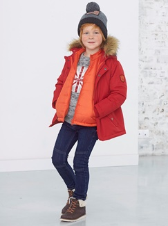 "Jungenkleidung-Lookbook-Outfit ""Winter 3-in-1"""