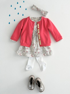 "Babymode-Lookbook Babys-Outfit ""Happy Girl"""