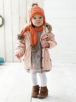 "Babymode-Lookbook Babys-Outfit ""Die Sanfte"""