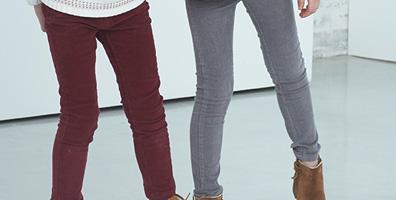Die passgenauen Mädchenhosen