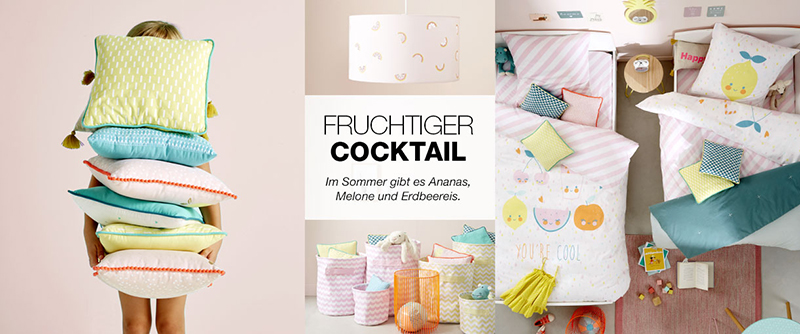 Fruchtiger Cocktail