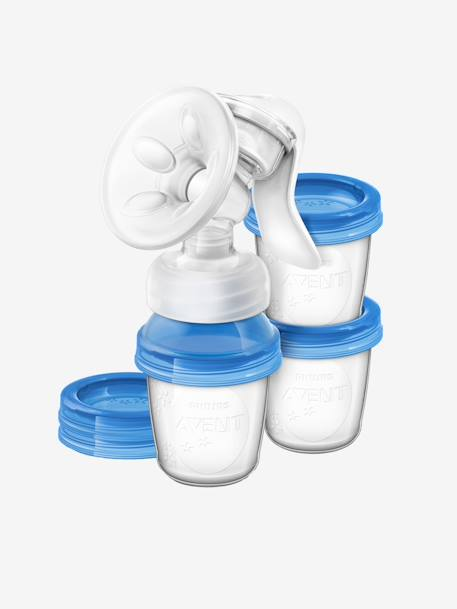 Hand-Milchpumpen-Set Philips AVENT Natural - TRANSPARENT - 1