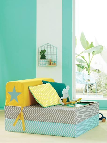 vertbaudet kinder sessel aus kunststoff und metall in mint. Black Bedroom Furniture Sets. Home Design Ideas