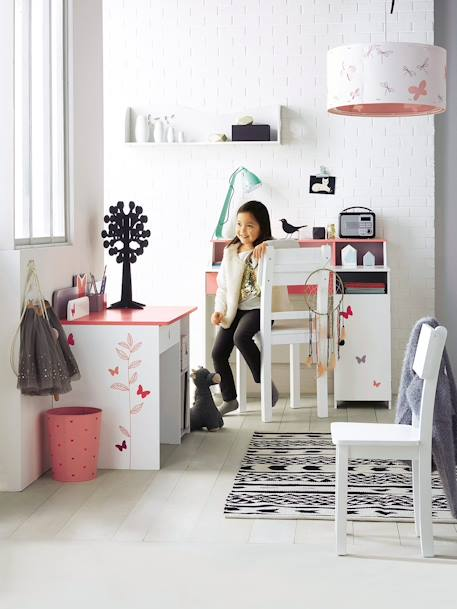 vertbaudet papierkorb f r kinderzimmer in rosa. Black Bedroom Furniture Sets. Home Design Ideas