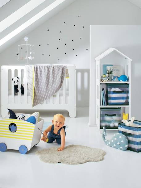 vertbaudet teppich f r kinderzimmer in grau. Black Bedroom Furniture Sets. Home Design Ideas