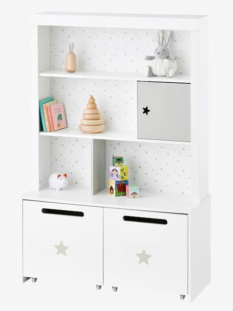 vertbaudet hohes kinderzimmer regal sirius in wei. Black Bedroom Furniture Sets. Home Design Ideas