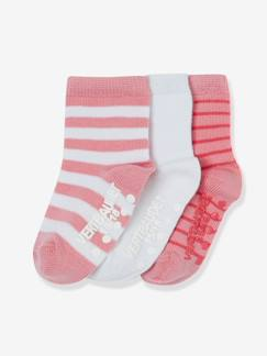 Happy Price-Babymode-3er-Pack Babysocken, Antirutschsohle