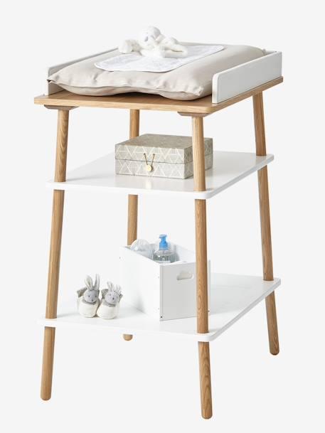 vertbaudet wickeltisch confetti in wei natur. Black Bedroom Furniture Sets. Home Design Ideas
