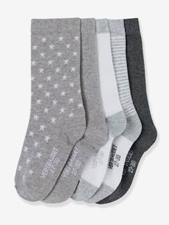 Happy Price-Maedchenkleidung-HAPPY PRICE 5er-Pack Socken für Kinder