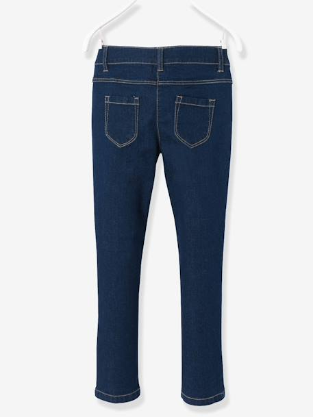 HAPPY PRICE Slim-Fit-Jeans für Mädchen - DARK BLUE - 2