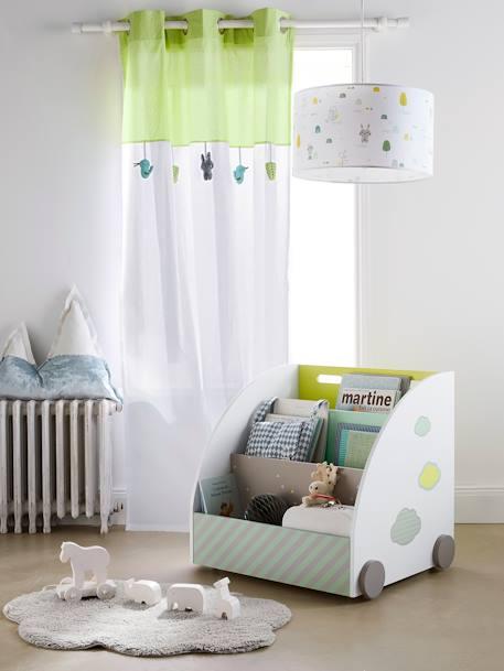 vertbaudet lampenschirm f r kinderzimmer in wei mehrfarbig. Black Bedroom Furniture Sets. Home Design Ideas