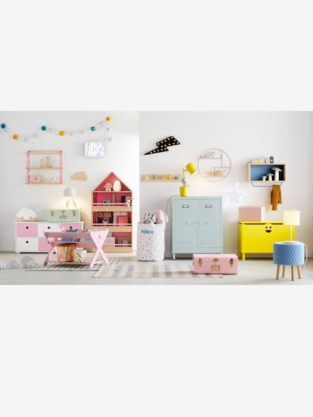 Vertbaudet KinderzimmerTeppich, reine Baumwolle in weißerika