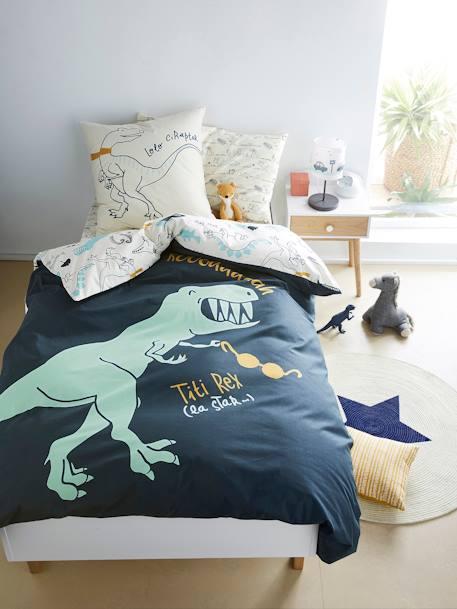 vertbaudet bettw sche set f r kinder dinoland in. Black Bedroom Furniture Sets. Home Design Ideas