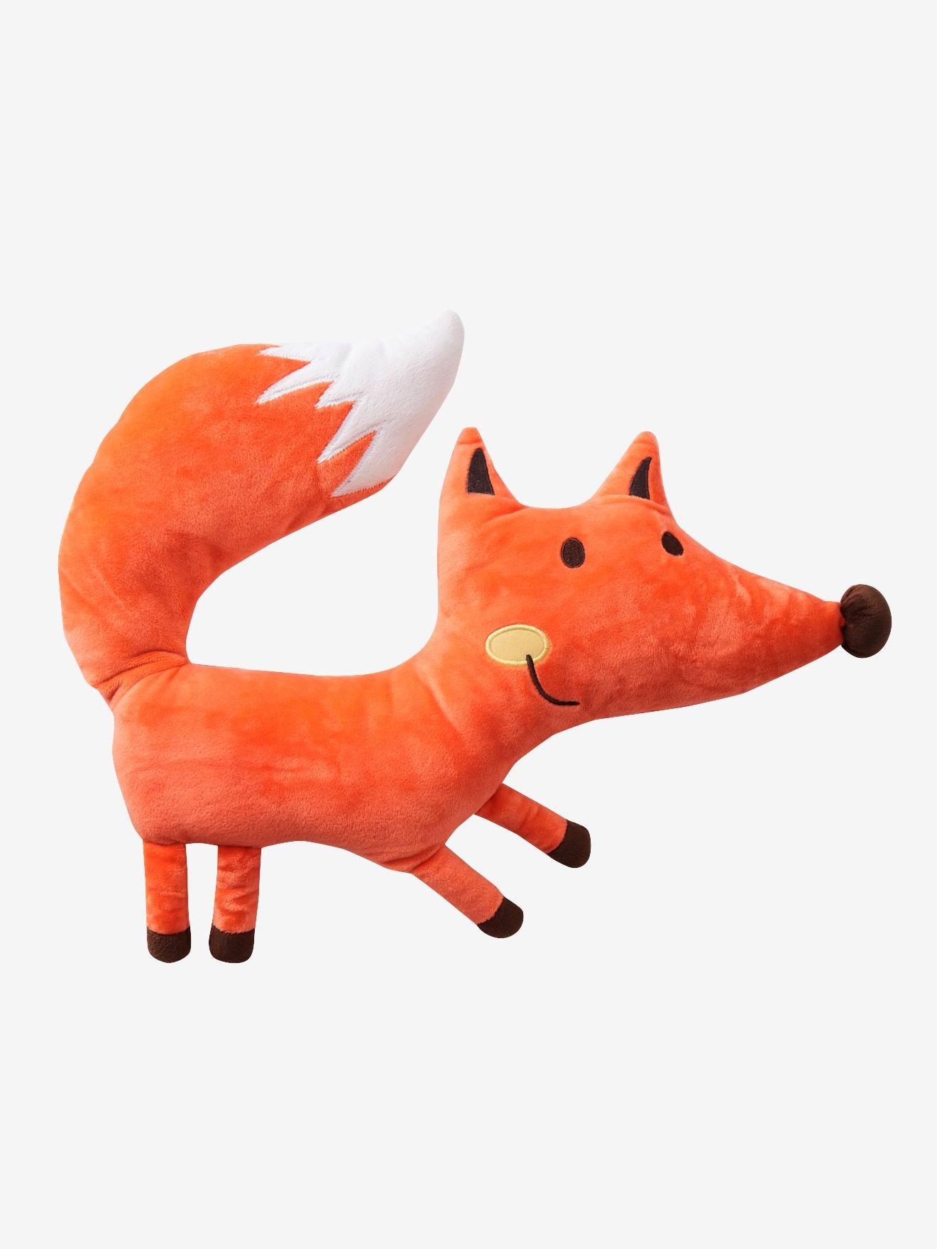 VERTBAUDET Kuschelkissen Fuchs orange