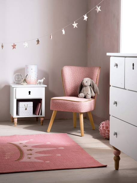 Kindersessel  'Romantique' - DENIM+GRüN+ROSA - 7