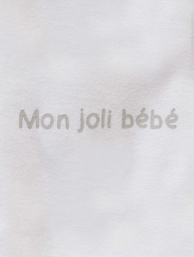 Jersey-Strampler für Babys - APRICOT+BLAU+GRAU+ROSA+WEIß - 10