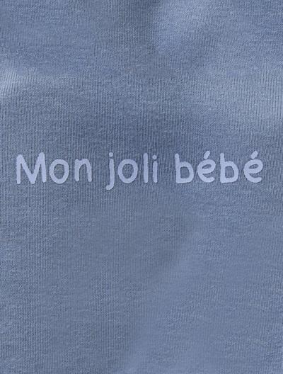 Jersey-Strampler für Babys - APRICOT+BLAU+GRAU+ROSA+WEIß - 4