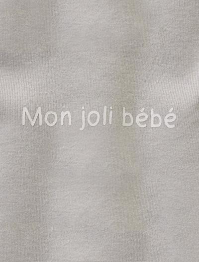Jersey-Strampler für Babys - APRICOT+BLAU+GRAU+ROSA+WEIß - 6