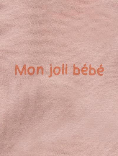 Jersey-Strampler für Babys - APRICOT+BLAU+GRAU+ROSA+WEIß - 2