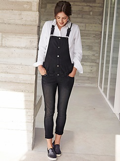 "Umstandsmode-Lookbook-Outfit ""Trendy Overall"""