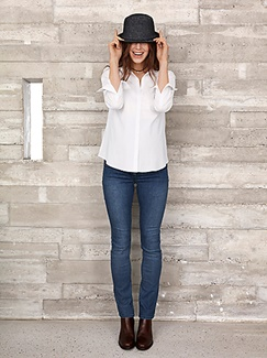 "Umstandsmode-Lookbook-Outfit ""Love my Denim"""